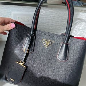 Authentic Prada Double Medium Bag